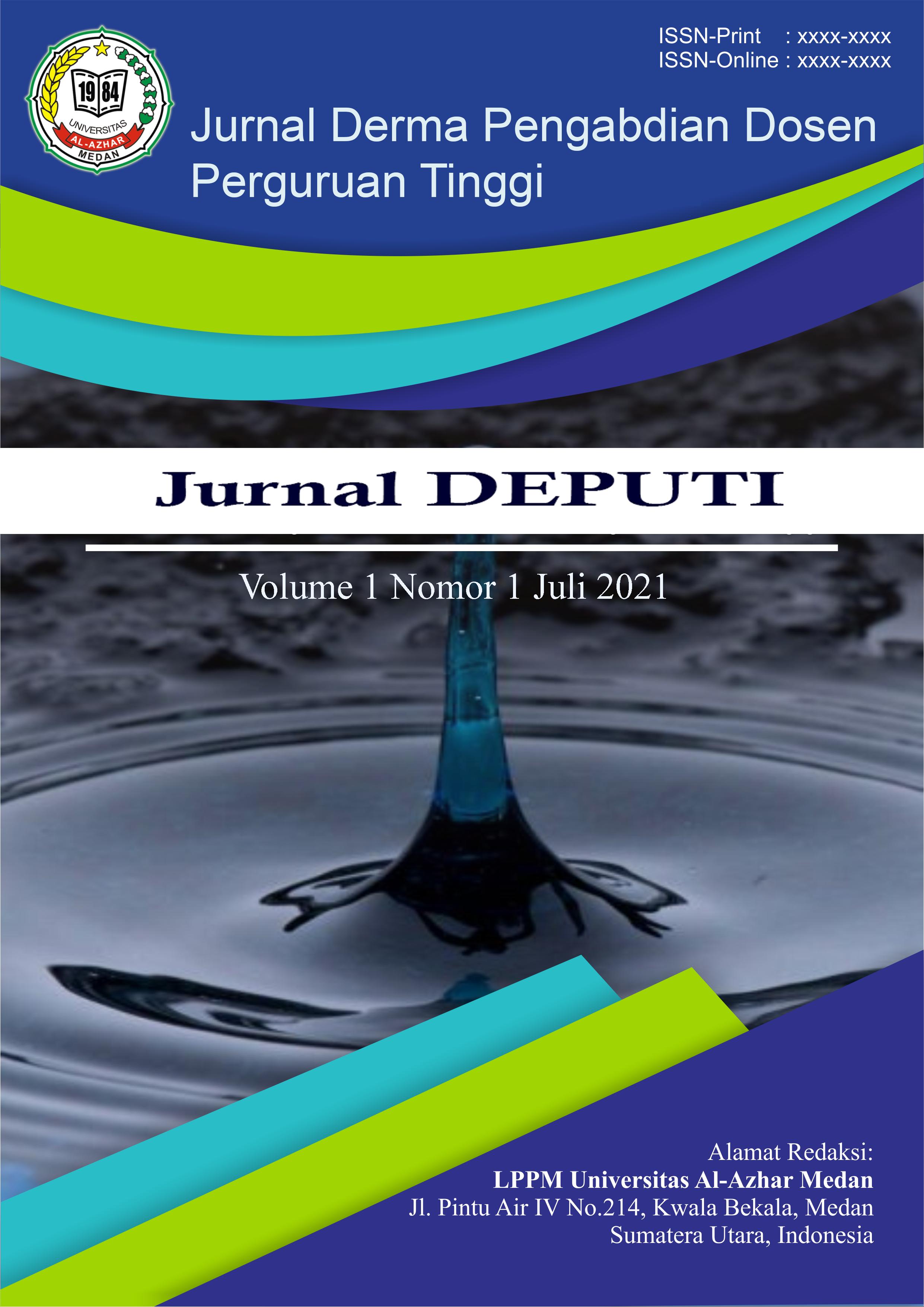 View Vol. 1 No. 1 (2021): Derma Pengabdian Dosen